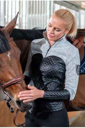 Knitted Riding Jacket with Waterproof Inserts - CAPITAL