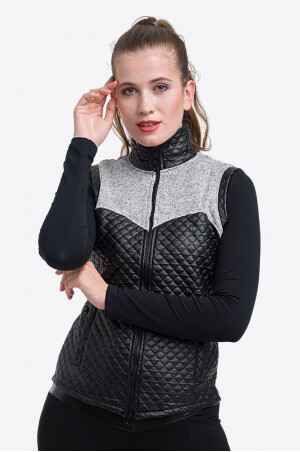 Knitted Riding Vest with Waterproof Inserts - CAPITAL