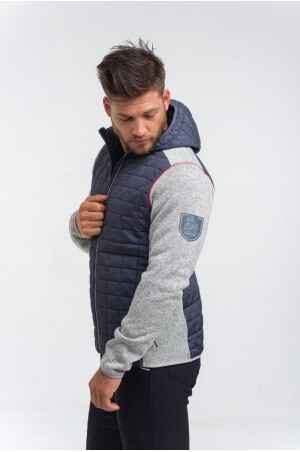 Knitted Riding Jacket with Waterproof Inserts - CAPITAL MAN