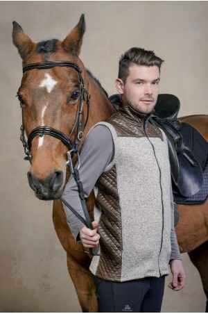 Riding Vest with Waterproof Inserts - MAJESTY MEN