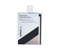 Cricut Insert Cards Black/Silver Holographic (2008045)