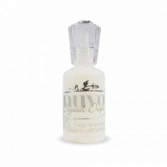 Tonic Studios Nuvo crystal drops 30ml gloss white (651N)