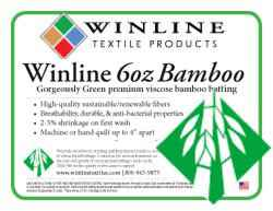 WinLine 100% Bamboo 6oz, 250 cm breed