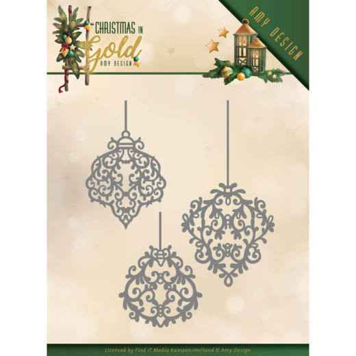 ADD10184 Golden ornaments - Chirstmas in gold