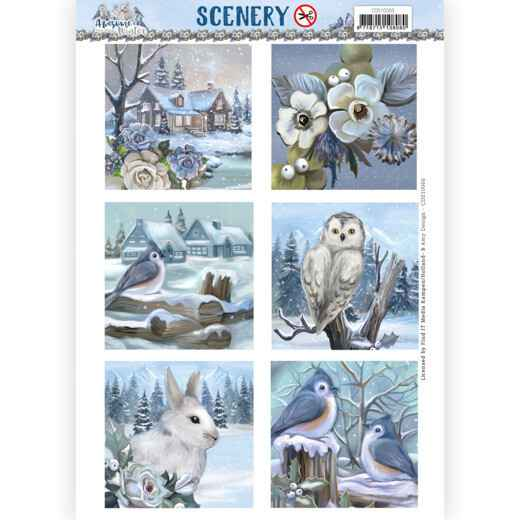 CDS10066 Amy Design - Awesome Winter Square