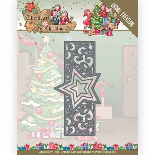 YCD10256 The Heart of Christmas - Twinkling Border