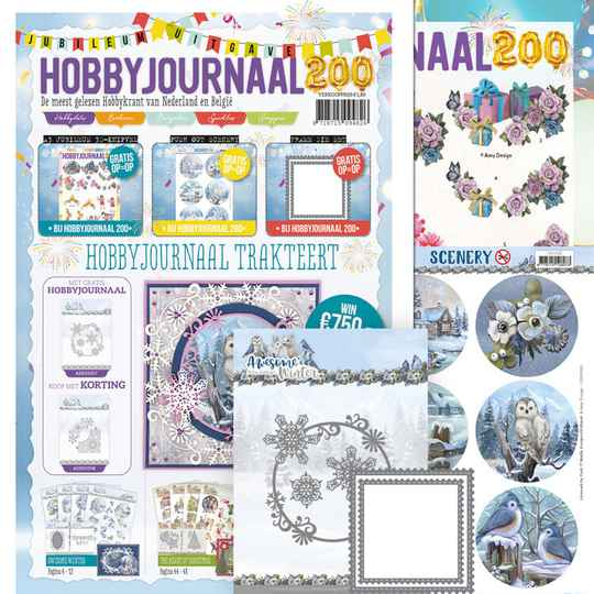 HJSET200 Hobbyjournaal 200 + ADD10257 + CDS10065
