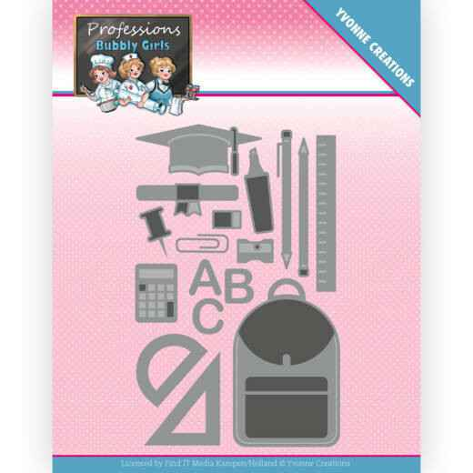 YCD10237 Bubbly Girls - Professions - Teaching