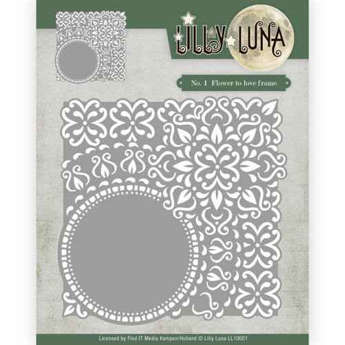 LL10001 Flowers to love frame - Lilly Luna