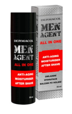 Men Agent anti-aging gel-cream and aftershave balm 50 ml