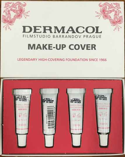 Testers - Dermacol Make-up cover 4x4 g