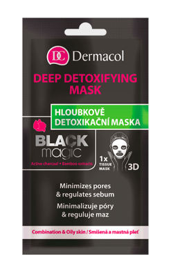 Detoxifying Black Magic tissue mask
