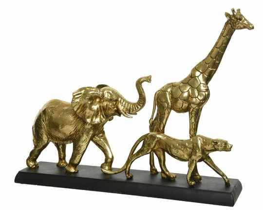 Poly walking animals standing gold