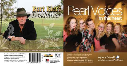 Bart Kiers & Pearl Voices - Tweiduuster/ CD-Single