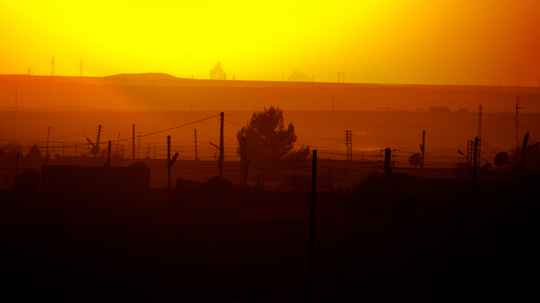 SUNSET IN SYRIA