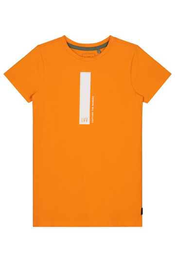 Levv - t-shirt jongens - Fabio Orange