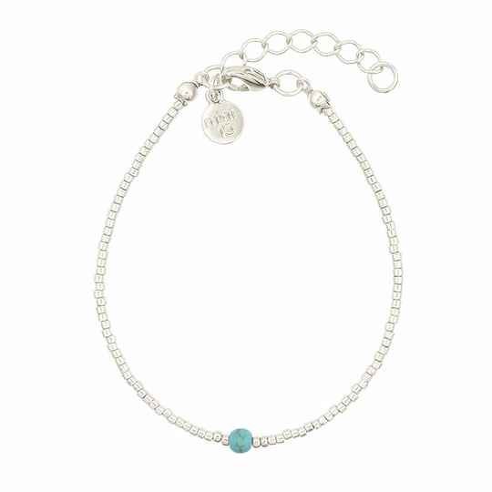 Armband Simply Delicate - Turquoise - zilver