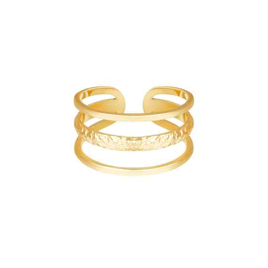 Ring Layers goud