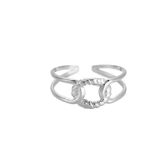 Ring Nora zilver
