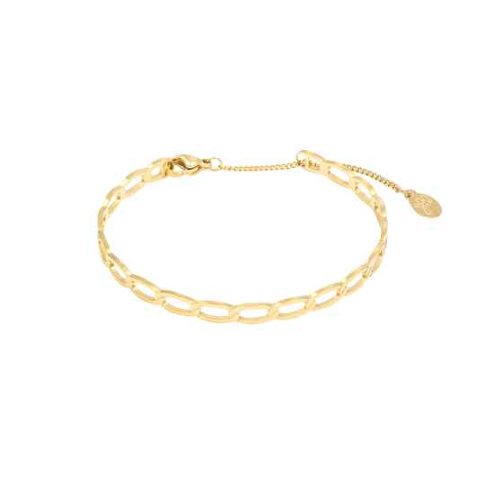 Armband Chained goud