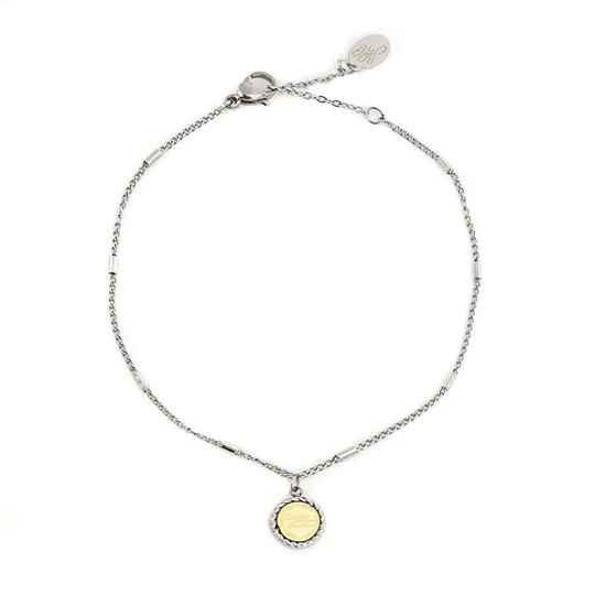 Armband Create your own sunshine zilver