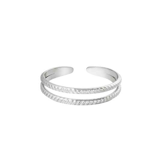 Ring Miracle zilver