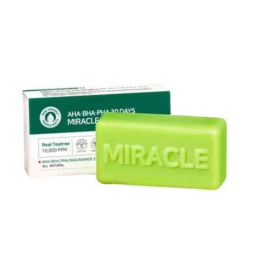 SOME BY MI - AHA/BHA/PHA 30 Days Miracle Cleansing Bar 106g