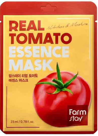 FARM STAY - REAL TOMATO ESSENCE MASK