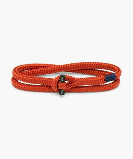 Pig & Hen - Tiny Ted -Coral Red/black