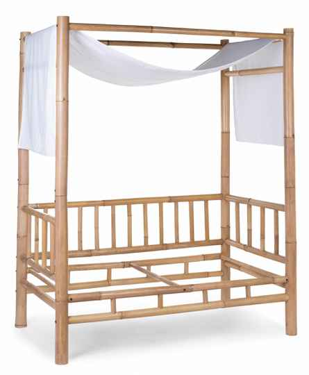 Bamboe Kinderbed Cover Gebroken Wit Childhome