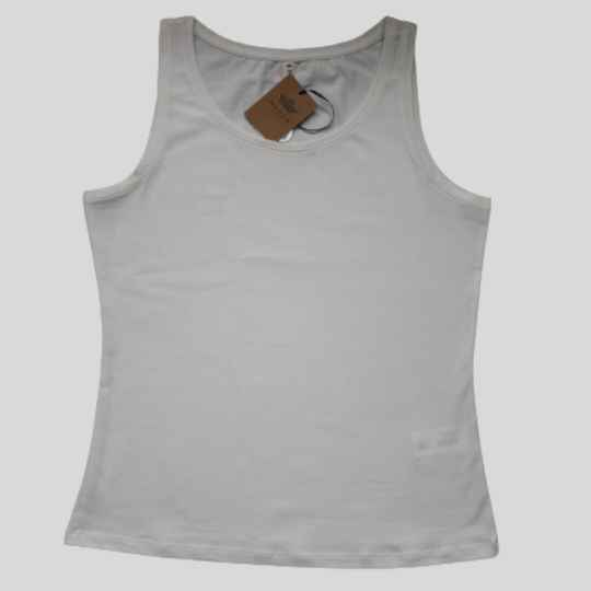 TANKTOP OFFWHITE   MARCH EUROPE