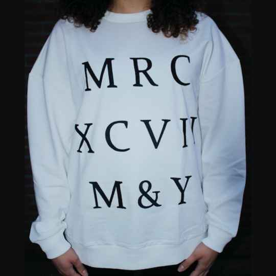 SWEATER OFFWHITE   MARCH EUROPE