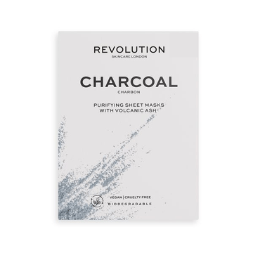 Revolution Skincare Biodegradable Purifying Charcoal Sheet Mask
