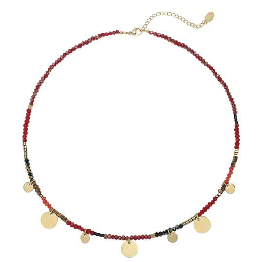 Ketting Caribbean Sunset - Rood