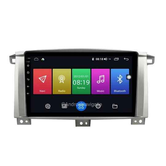 Toyota LC100 Land Cruiser Android 9 Navigatie
