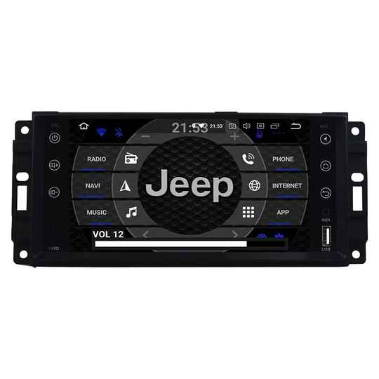 Jeep Grand Cherokee Android 10 Navigatie