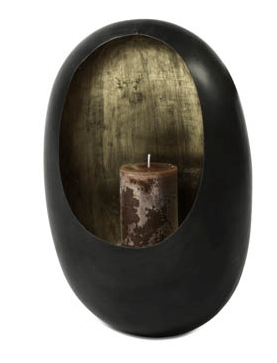 Wall Candle Holder | Black