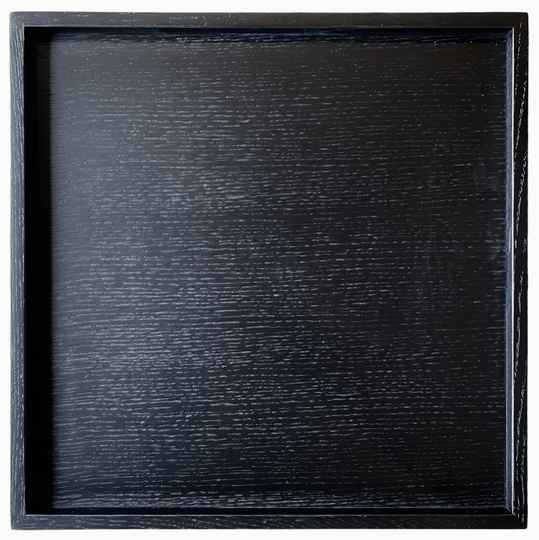 Wooden Tray Black | Huisbaas Collection