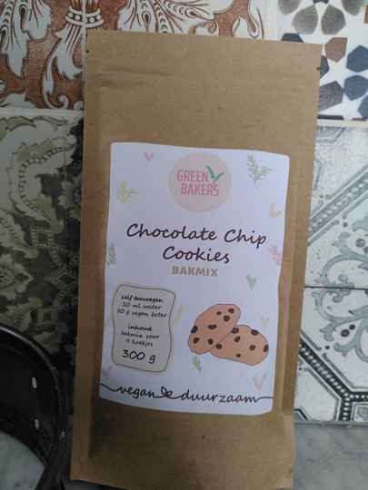 Chocolate Chips Cookies Vegan bakmix