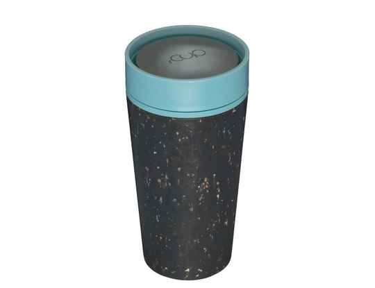 rCUP 350 ml - Black and Teal