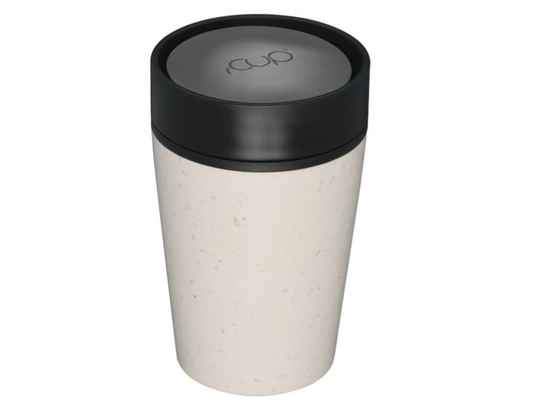 rCUP 227 ml - Cream and Black