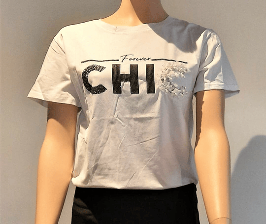 T - Shirt Chic/Wit
