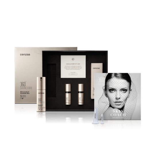 360º  Skincode Hyaluronic Cocktail Box