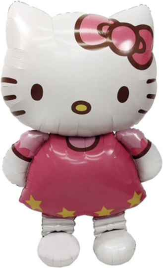Hello Kitty Folie Helium Ballon - Medium & Large