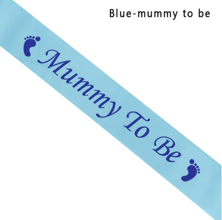 Mommy To Be Sjerp - Blauw