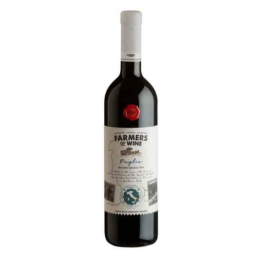 FARMERS OF WINE - PRIMITIVO NEGROAMARO ORGANIC 750ML