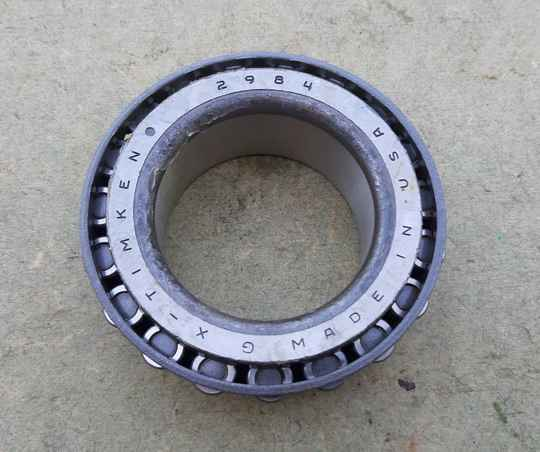 G502/G507 Bearing, tapered roller front and rear wheel outer