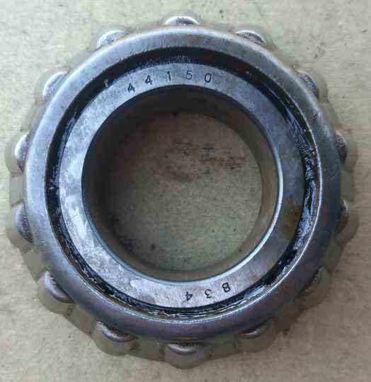 H012 Cone and rollers axle diff pinion outer bearing
