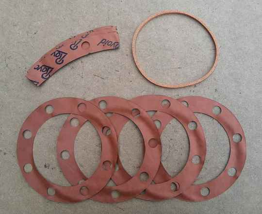 G508 Gasket set, intermediate and rear axle