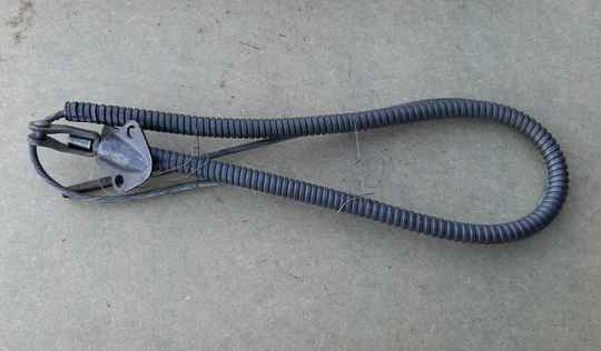 G518/G527 Cable, left hand brake, w/conduit